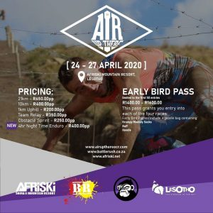 The Air Up There Obstacle Course Race @ Afriski Mountain Resort, Lesotho